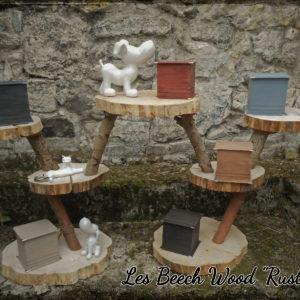 "Urne BEECH WOOD ""Les rustiques"""